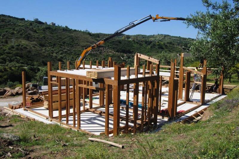 Casa in legno a cefal pa for Impianto elettrico casa in legno