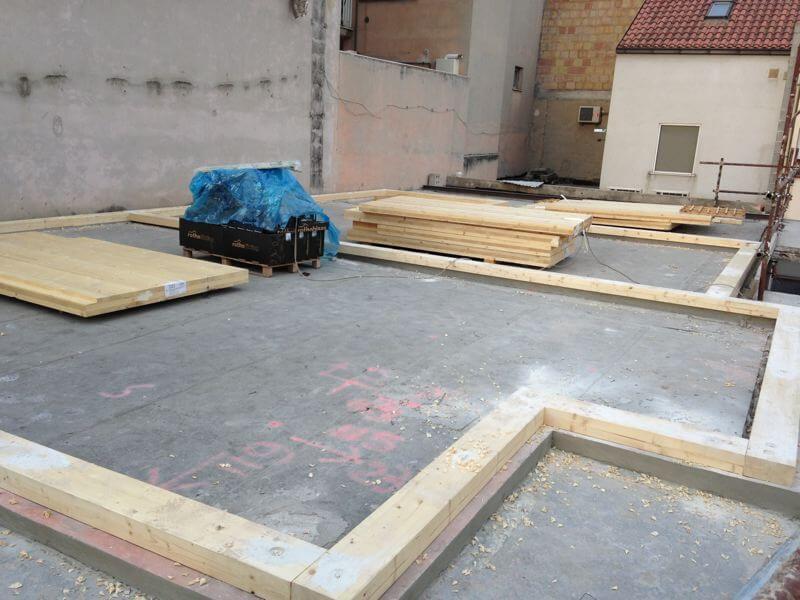 Palazzina in x lam a chieti urban green case in legno for Case legno xlam