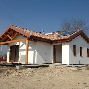 casa in legno foto