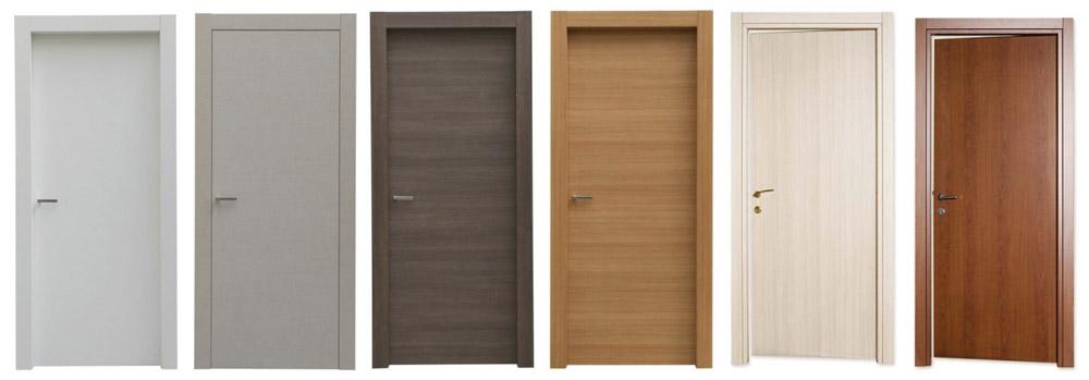 porte interne case in legno