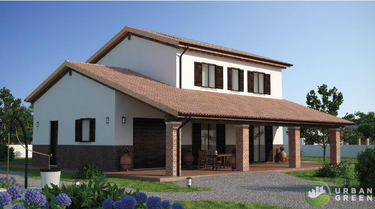 Progetti case in legno urban green for Progetti interni case