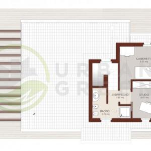 progetto casa in legno bipiano Primo Piano