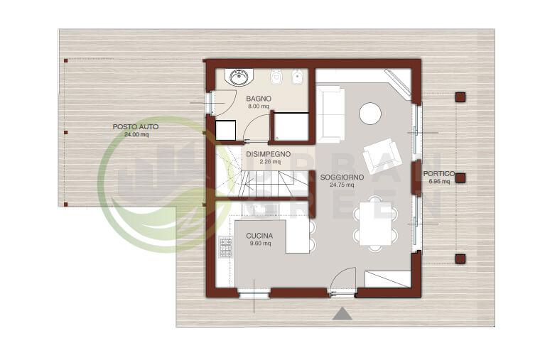 Casa In Legno Bipiano Urb04 Urban Green