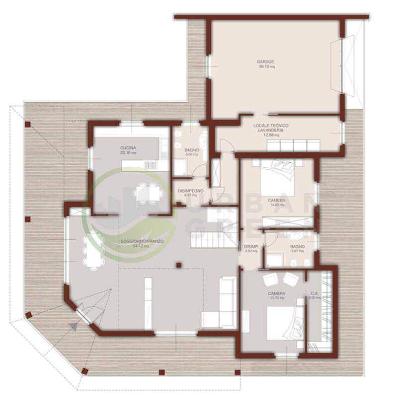 Case piano terra progetti yo94 regardsdefemmes for Progetti ville a due piani