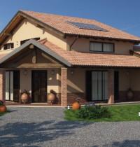 Casa in Legno URB08