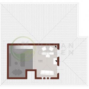 Casa in legno Bipiano piano primo