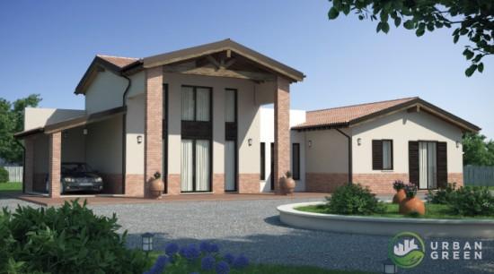 Casa in Legno URB10