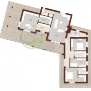progetto piano terra casa in legno