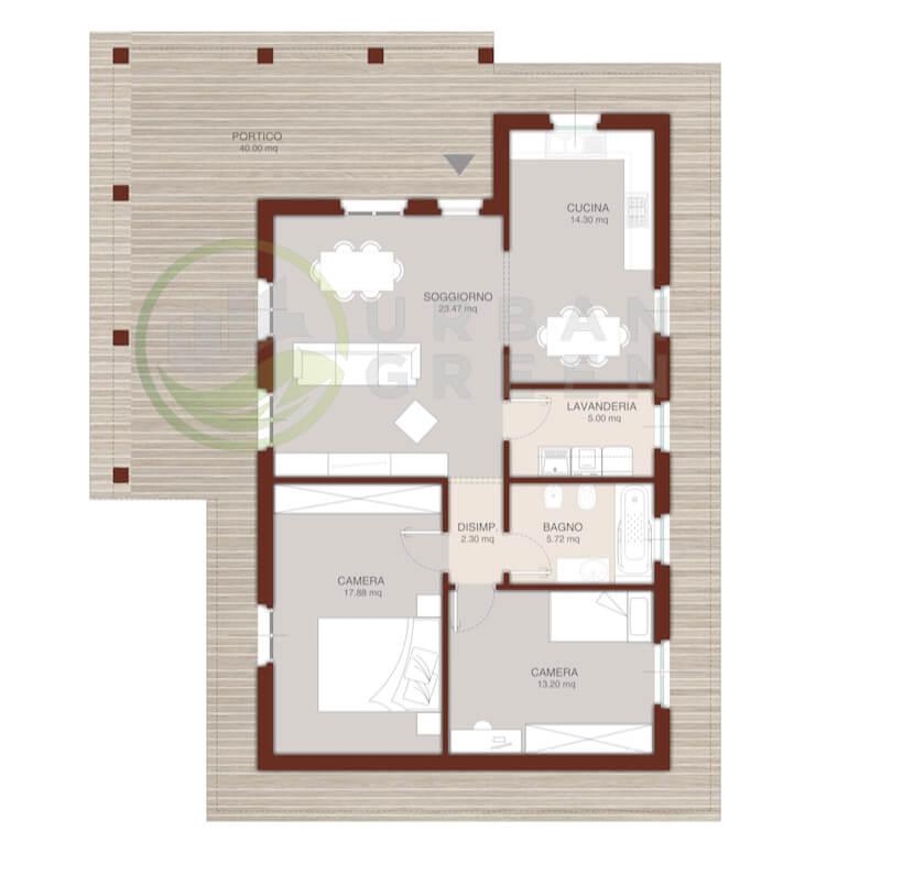 Casa In Legno Monopiano Urb13 Urban Green