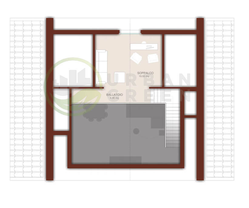 Progetti case piano terra gaetano bertino progetto di una for Progetti per case con scantinati