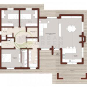 Progetto casa in legno monopiano 160mq