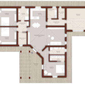 casa in legno monopiano