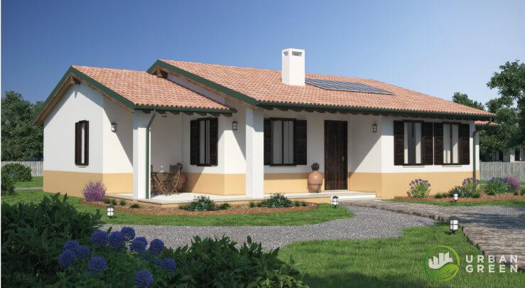 Casa in Legno Monopiano URB22 - Urban Green