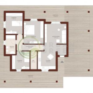 progetto casa in legno 110mq