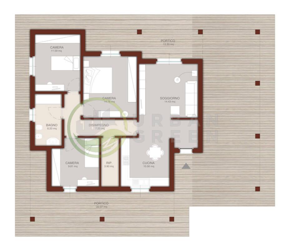 Case monopiano progetti case monopiano progetti with case for Progetto casa in legno dwg