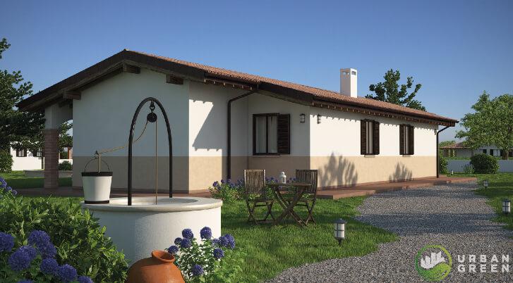 Casa in Legno URB25Casa in Legno URB25