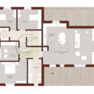 casa in legno monopiano 140mq
