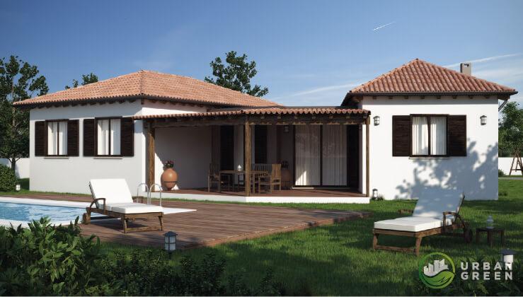 Casa in legno monopiano urb28 urban green - Case monopiano progetti ...