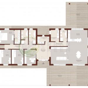 planimetria casa in legno 200mq