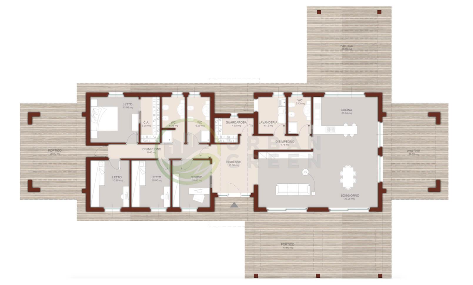 Casa In Legno Monopiano Urb29 Urban Green
