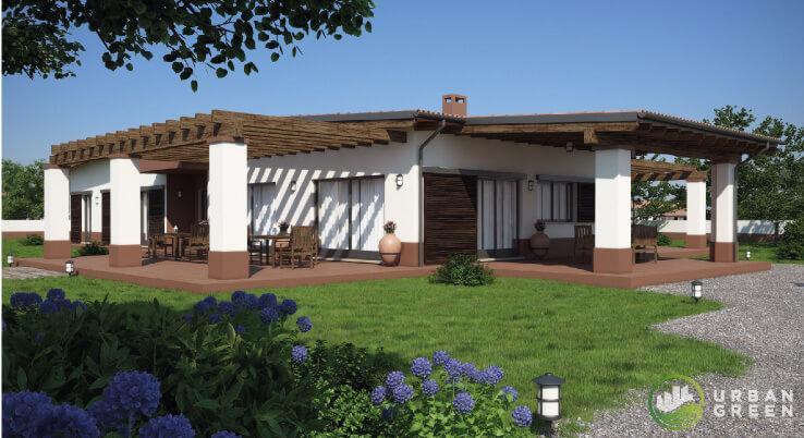 Casa in legno monopiano urb29 urban green - Costo progetto casa ...