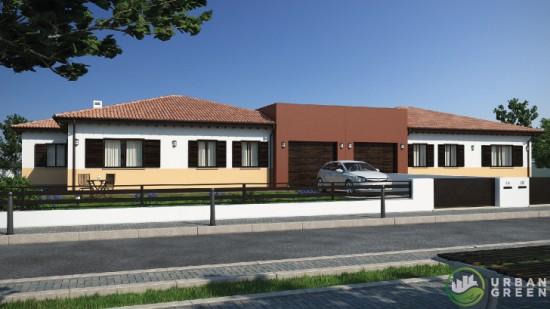 Casa prefabbricata in Legno bifamiliare