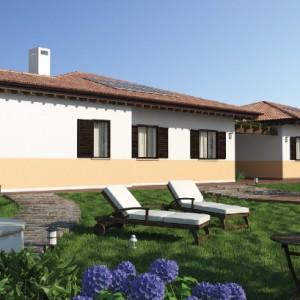 Casa in Legno bifamiliare Urban green