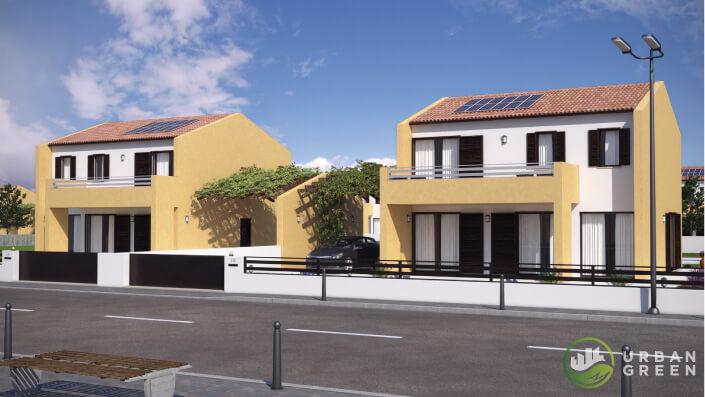Casa In Legno Bifamiliare Urb32 Urban Green