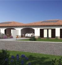 Casa in Legno bifamiliare