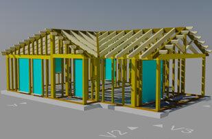 Calcolo strutturale case in legno