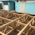 stabilimento balneare in legno in abruzzo