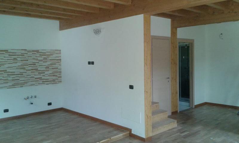 Struttura delle case in legno for Foto di interni di case