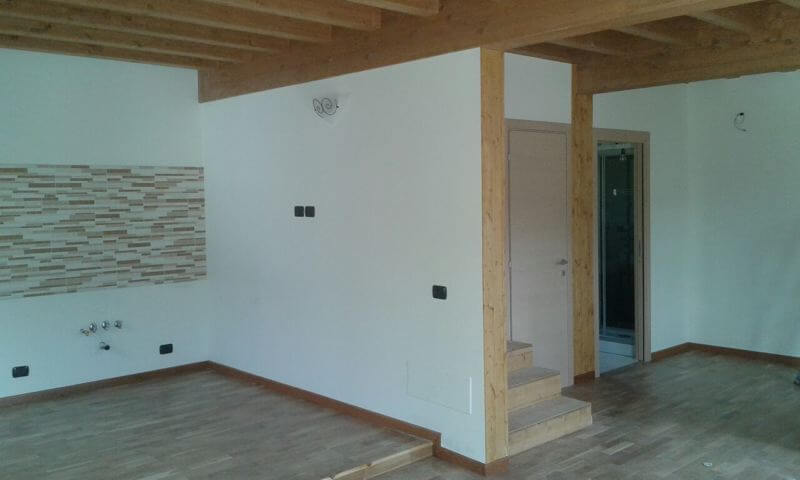 Urban green case in legno a 1100 euro al mq chiavi in mano - Case prefabbricate interni ...