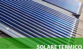 solare termico case in legno