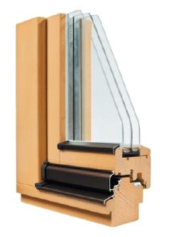 legno a triplo vetro