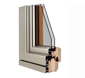 Infissi case in legno - Finestre alluminio anodizzato ...