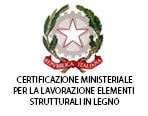 certificazione taglio elementi strutturali in legno