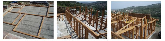 montaggio struttura portante urban green a telaio