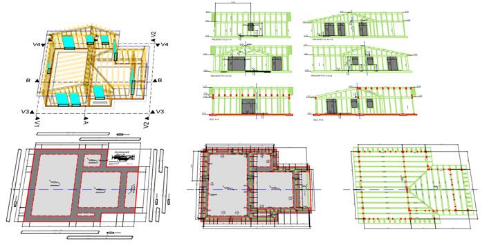 progettazione case in legno