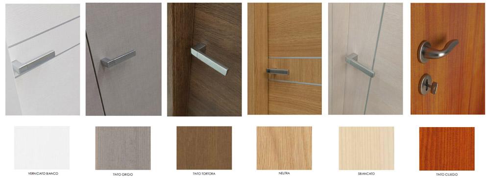 colori porte case in legno