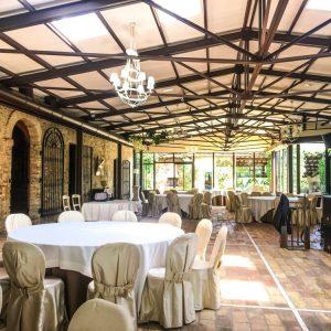 struttura sala ristorante in acciaio