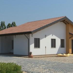Casa prefabbricata in Legno monopiano